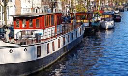 Barcos de Amsterdão @Dimitris Dranidis