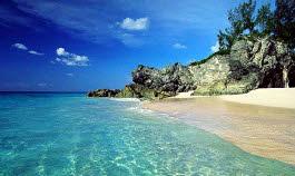 praias das Bermudas