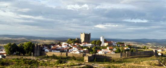 Vista da cidade de Bragança