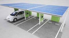 Microgeração de energia para recarregar veículos eléctricos
