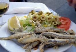 Pescaíto frito de Málaga