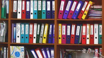 Organizar documentação
