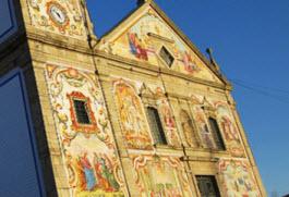 Ovar: Fachada da Igreja Matriz da Válega