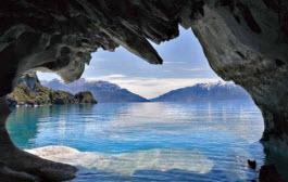 Patagónia: uma caverna