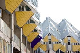 Casas cúbicas de Roterdão