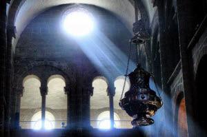 Por dentro da Catedral de Santiago de Compostela