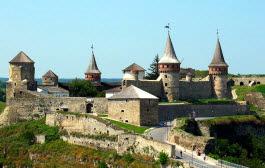 Castelo de Kamianets-Podilskyi