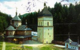 Mosteiro de Maniava na Ucrânia